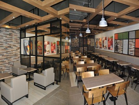 Burger King introduces new restaurant design in UK - Hospitality & Catering News