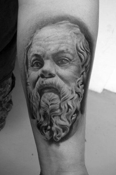 30 Socrates Tattoo Designs For Men Philosopher Ink Ideas Tattoos For Guys Tattoos Tattoo Designs Men