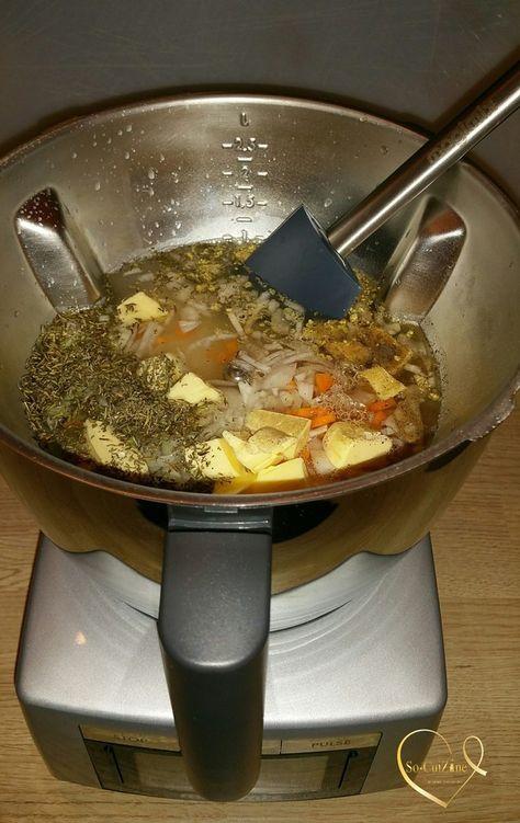 Riz pilaf au Cook Expert de Magimix