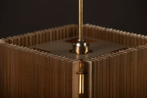 Cube Lampe En Bois Abat Jour De Lampe En Bois Suspension