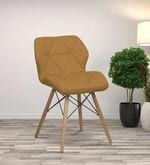 Sensational Brio Modern Iconic Chair In Tan Colour By Workspace Interio Gamerscity Chair Design For Home Gamerscityorg