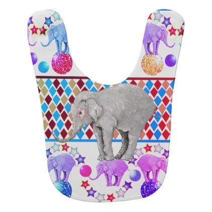 Elephant circus baby bib baby gifts giftidea diy unique cute elephant circus baby bib baby gifts giftidea diy unique cute baby gifts pinterest negle Image collections