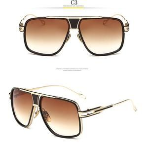 Men/'s Sunglasses Vision Square Pilot Driving Male Luxury Brand Sun Glasses For