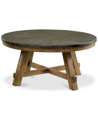 Furniture Breslin Bluestone Round Coffee Table Reviews