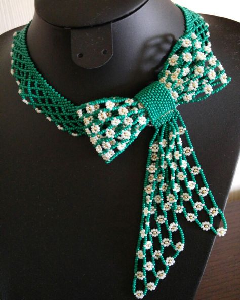 Fiyonk kolye, handmade necklace