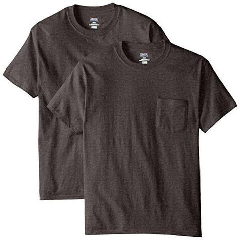 Gildan Mens Taped Shoulders Preshrunk Pocket Jersey T-Shirt S Pack of 10 White