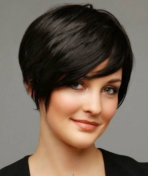 Short Hairstyles for Thick Hair and Oval Face Old Generation Ladies