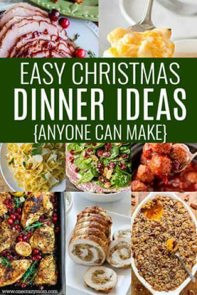 Christmas Dinner Ideas 30 Christmas Menu Ideas Easy Christmas