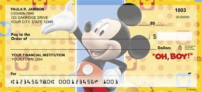 Mickey, Minnie, Donald Duck, and Goofy are some of the most popular characters of the Disney franchise. Experience your favorite Disney characters and their favorite sayings with this fun and entertaining series of checks. $15.99 /box