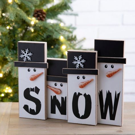 Christmas Wood Crafts, Christmas Snowman, Christmas Projects, Holiday Crafts, Christmas Holidays, Christmas Wooden Signs, Wooden Halloween Crafts, Diy Christmas Home Decor, Diy Christmas Crafts To Sell