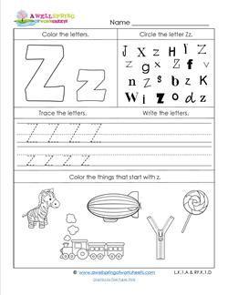 Pin On Kindergarten Letter w pre k worksheets