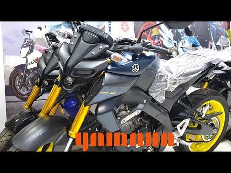 Yamaha Mt 15 Blue Matted Blue Review 2020 In 2020 Yamaha Mt