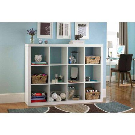 Better Homes And Gardens 12 Cube Storage Organizer Multiple Colors Cube Storage Cube Storage Unit Kallax Ikea