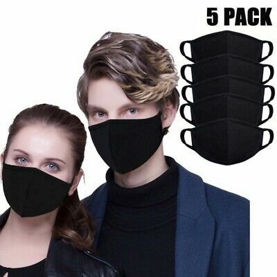 Unisex Mouth Face Mask Anti-Dust Sun Protection Anti-smog Cover Ear Loop Tool