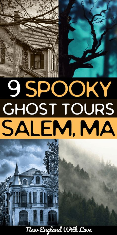 Cool Places To Visit, Places To Travel, Places To Go, Ghost Tour, Salem Tours, Fall In Connecticut, Beach Trip, Beach Travel, Vacation Trips