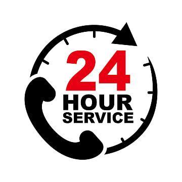 Telefone Png Images Vetores E Arquivos Psd Download Gratis Em Pngtree 24 Hour Service Vector Design Clock Clipart