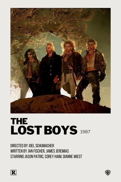 The Lost Boys Polaroid Movie Poster