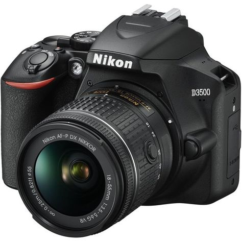 Shop Nikon DSLR Video Camera with AF-P DX NIKKOR VR Lens Black at Best Buy. Find low everyday prices and buy online for delivery or in-store pick-up. Nikon D5200, Dslr Nikon, Dslr Lenses, Best Dslr, Best Camera, Reflex Numérique Nikon, Camera Samsung, Camera Aesthetic, Appareil Photo Reflex