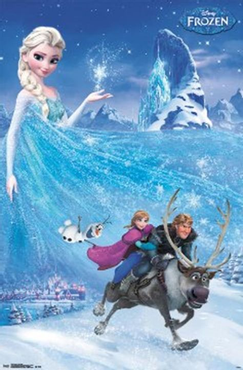Frozen Movie Posters form GE Fundraising offer Disney's Classic vintage Art Poster Prints 24 X 36 In, Get your NOW!