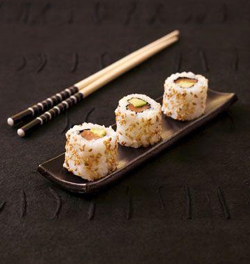 California rolls saumon avocat (makis california) - les meilleures recettes de cuisine d'Ôdélices