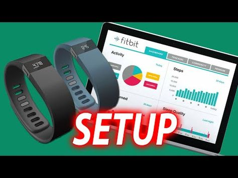How to setup FitBit Charge and Fitbit Charge HR Fitness Band videoguide - http://www.fuel-band.net/fitbit-charge-and-charge-hr-replacement-wristbands/