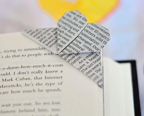Lesezeichen basteln - einfache Bastelideen für Erwachsene