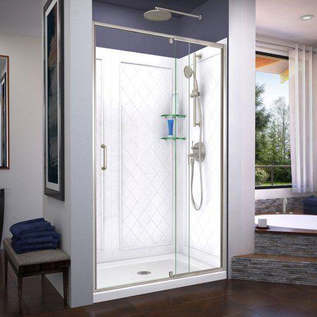 Home Improvement Shower Doors Shower Base Shower Kits