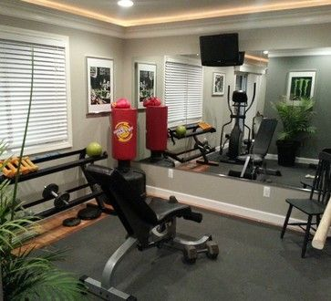 Detroit Gym Design Ideas Pictures Remodel And Decor Gym Room At Home Home Gym Design Workout Room Home