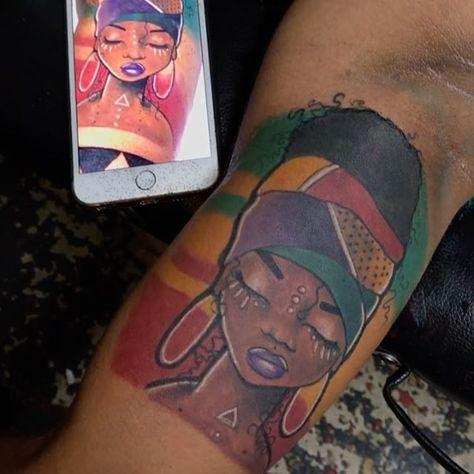 tattoolife Just finished this tattoo 💉💉...