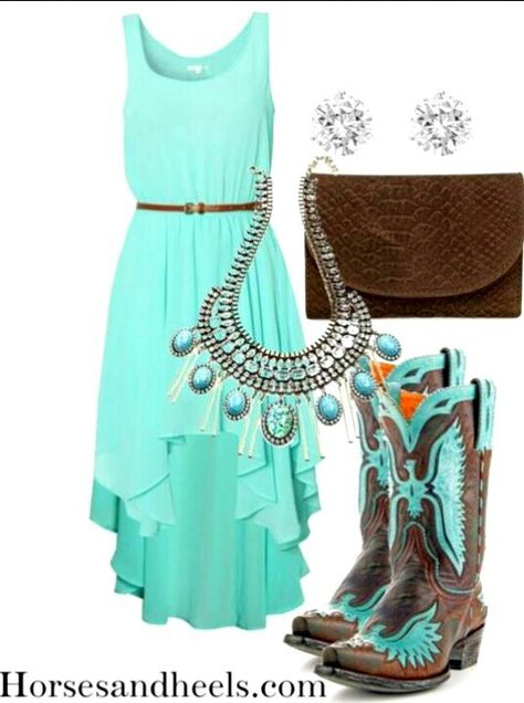 Country Outfit #Country Life #SummerClothes #Cowboy Boots
