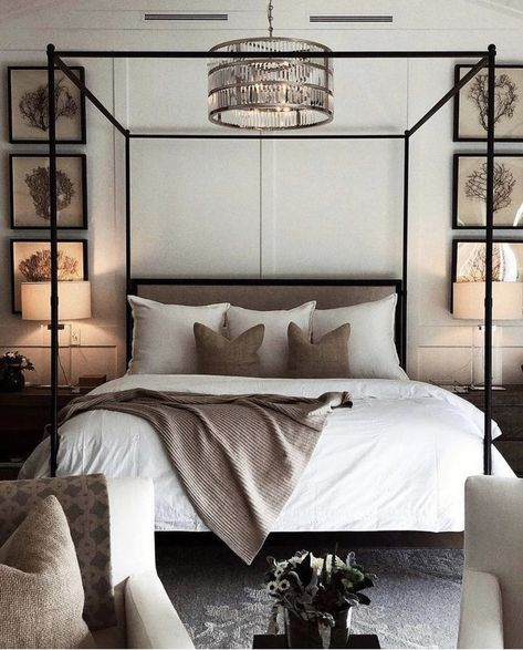Learn how to create the perfect bedroom with these key design principles and ide. Learn how to create the perfect bedroom with these key design principles and ideas Master Bedroom Design, Home Decor Bedroom, Interior Design Living Room, Bedroom Ideas, Bedroom Designs, Canopy Bedroom, Bedroom Inspo, Master Suite, Modern Interior