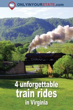 4 Epic Train Rides In Virginia That Will Give You An Unforgettable Experience Train Travel, Us Travel, Places To Travel, Places To Go, Vacation Deals, Vacation Destinations, Vacation Trips, Winter Destinations, Train Vacations