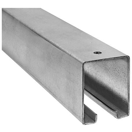 National Hardware 5116 Box Rail Galvanized 8 Ft At Tractor Supply Co Barn Door Track Sliding Door Hardware Cheap Barn Doors