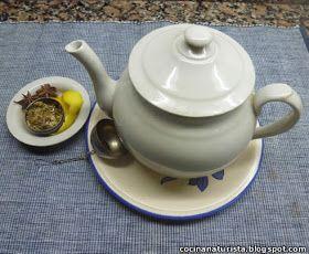 Recetas Cocina Naturista Infusión O Té De Manzanilla Anís Estrellado Y Limón Tableware Tea Pots Tea