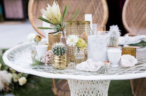 1f0c32f62f2 Bohemian Beauty with a Tropical Twist  Desert Wedding at Colony 29 ...