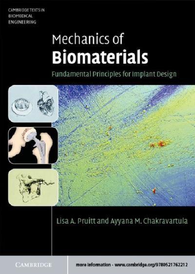 Mechanics Of Biomaterials Biomedical Engineering Nanotechnology Biomedical