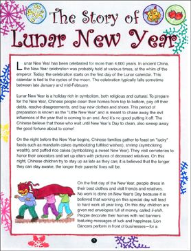 The Story Of Chinese New Year Printable Lesson Plans Ideas And Skills Sheets In 2020 With Images Chinese New Year Printable Lesson Plans Newyear