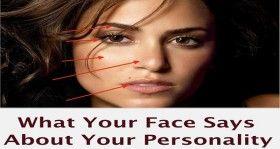 Wat voor soort geheimen Heeft uw Gezicht Verbergen Een hoog voorhoofd is een teken van intelligentie, dunne lippen een teken van ...