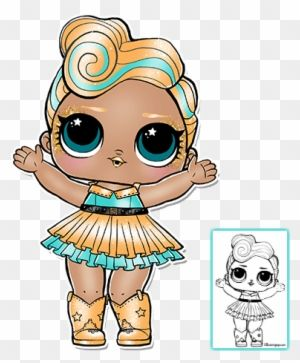 Lol Surprise Kitty Queen Full Size Png Clipart Images Download Lol Dolls Cute Coloring Pages Doll Party