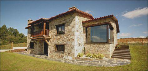 Construcciones Rusticas Gallegas Casas Rusticas De Piedra Inicio Casas Rusticas De Piedra Modelos De Casas Rusticas Casas