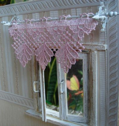 How To Make Curtain Rods For Dollhouse