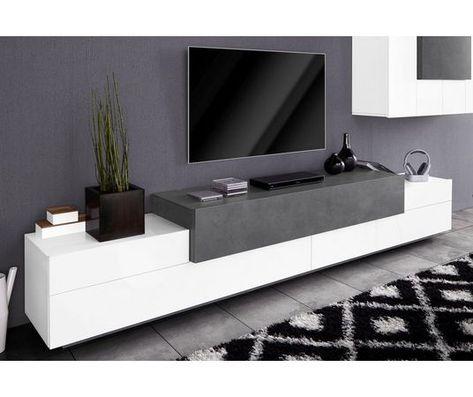 Tv Meubel Wit Met Teak.Tv Meubel Asia Breedte 270 Cm Meubels Tv Decor En Huisstijl