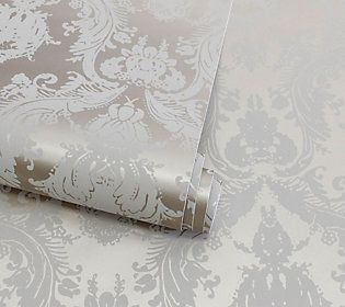 Tempaper Single Roll 20 5 X 15 5 Metallic Damsel Wallpaper Qvc Com Diy With Contact Paper Print Wallpaper Wallpaper
