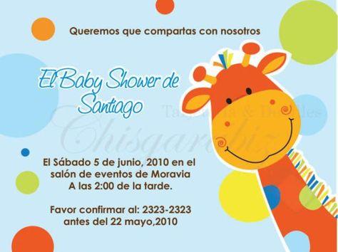 Invitaciones Con Frases Bonitas Para Baby Shower En 2019