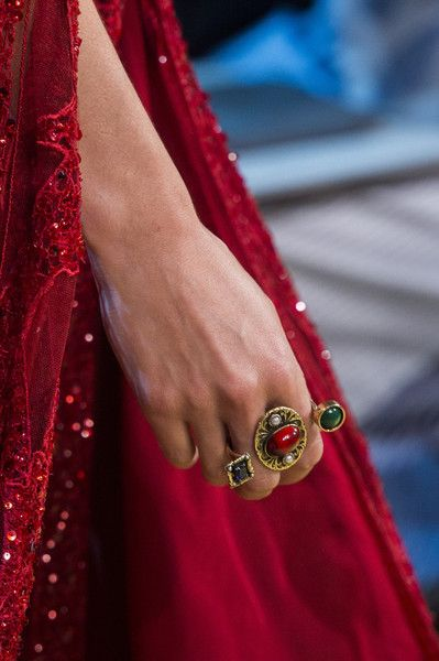 Elie Saab at Couture Fall 2017 - The Most Dazzling Bling on the Fall 2017 Couture Runways - Photos