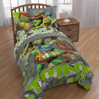 Nickelodeon Teenage Mutant Ninja Turtles Crash Landing Twin Comforter In Grey Teenage Mutant Ninja Twin Comforter Teenage Mutant