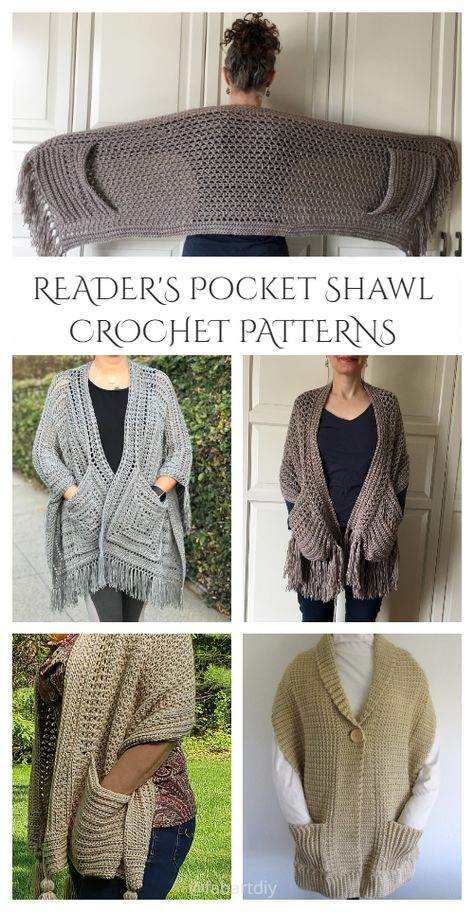 Pull Crochet, Crochet Wrap Pattern, Crochet Stitches Patterns, Knit Crochet, Stitch Patterns, Scarf Patterns, Free Crochet Shawl Patterns, Crochet Vests, Crochet Geek