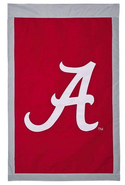 Alabama Flag 2 Sided Scripted A Logo House Banner In 2020 Home Logo Banner Tide Logo