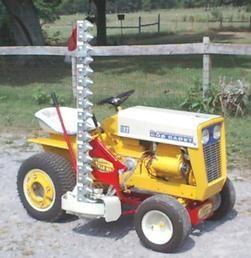 IH cub cadet - haban sickle bar mower | Tractors | Garden tractor
