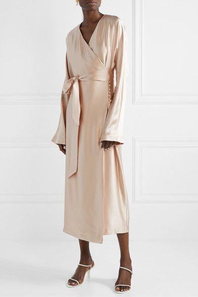 27++ Blush silk wrap dress ideas in 2021